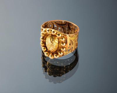 Gouden ring, Zuid-Beveland, 1850-1860