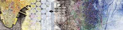Dit tableau heeft Dagradi in 2002 speciaal gemaakt voor de expositie van zijn werk in het Nederlands Tegelmuseum in 2002. De aanslagen op het WTC vormden de aanleiding voor de thematiek.