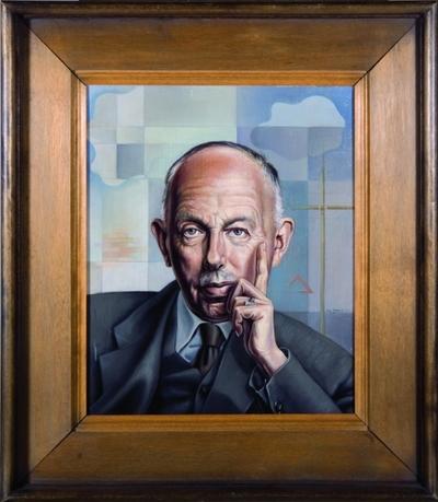 de architect G. Feenstra (1890-1985) is de oprichter van het Nederlands Tegelmuseum in Otterlo