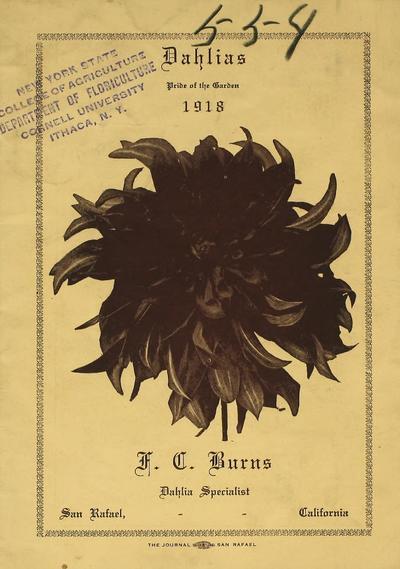 [F.C. Burns materials]