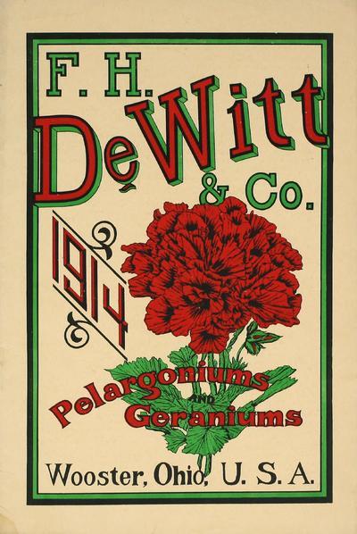 [F.H. DeWitt & Co. materials]