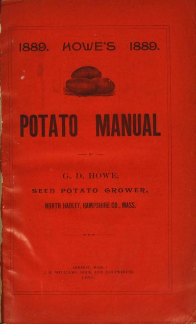 [G.D. Howe materials]