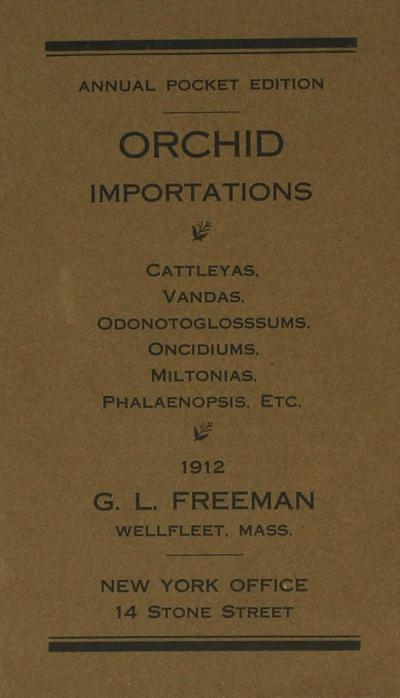 [G.L. Freeman Co. materials]