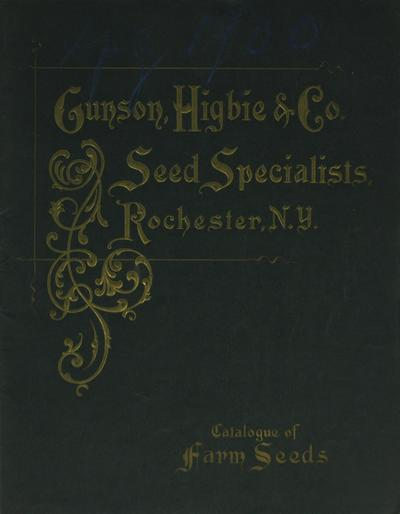 [Gunson, Higbie & Co. materials]