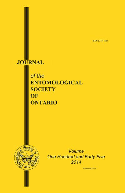 Journal of the Entomological Society of Ontario.