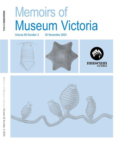 Memoirs of Museum Victoria