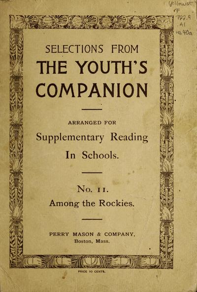 Selections from The youth's companion for supplementary reading