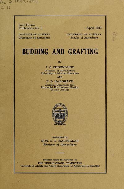 Budding and grafting,