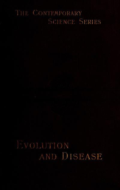 Evolution and disease /