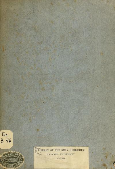 Excerpta de re herbaria.