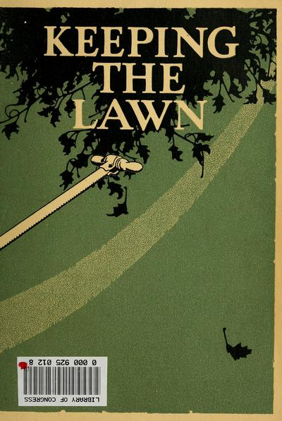 Keeping the lawn,