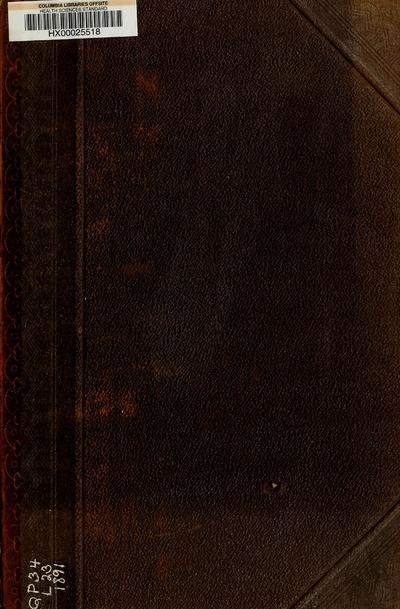 Lehrbuch der Physiologie des Menschen : einschliesslich der Histologie und mikroskopischen Anatomie mit besonderer Berücksichtigung der praktischen Medicin / von L. Landois.