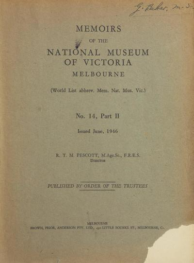 Memoirs of the National Museum of Victoria