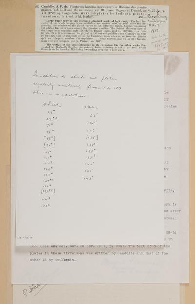 Plantarum historia succulentarum =Histoire des plantes grasses /par A.P. Decandolle ; avec leurs figures en couleurs, dessinées par P.J. Redouté.
