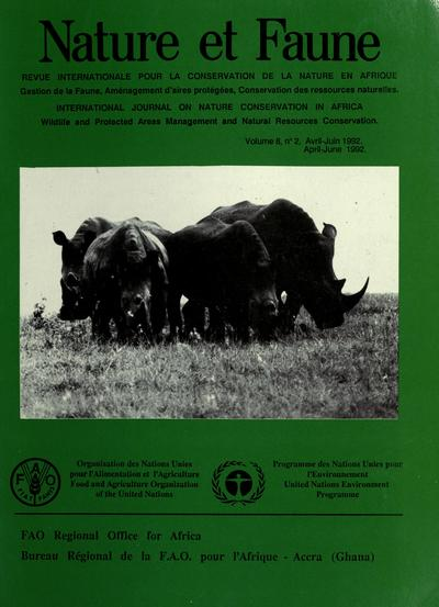 Nature et faune : revue internationale pour la conservation de la nature en Afrique = Wildlife and nature : international journal on nature conservation in Africa.