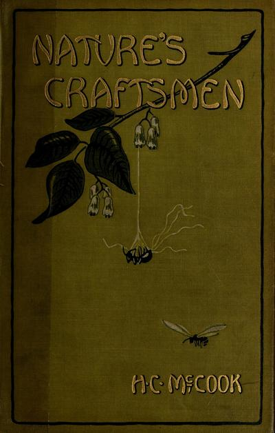 Nature's craftsmen; popular studies of ants and other insects, by Henry Christopher McCook ... illustrated from nature.