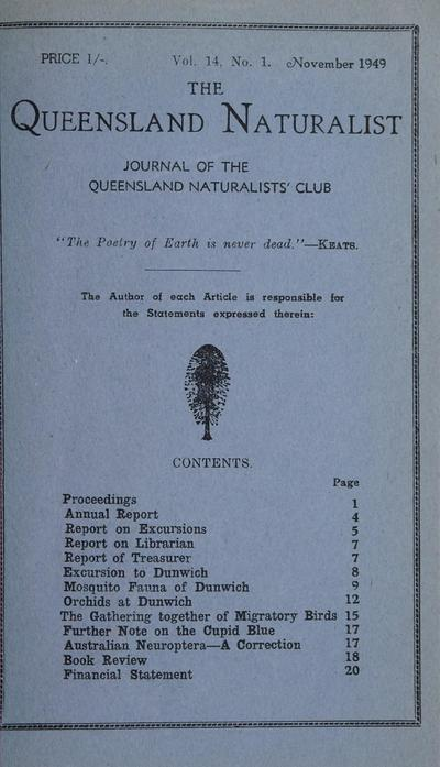 The Queensland Naturalist
