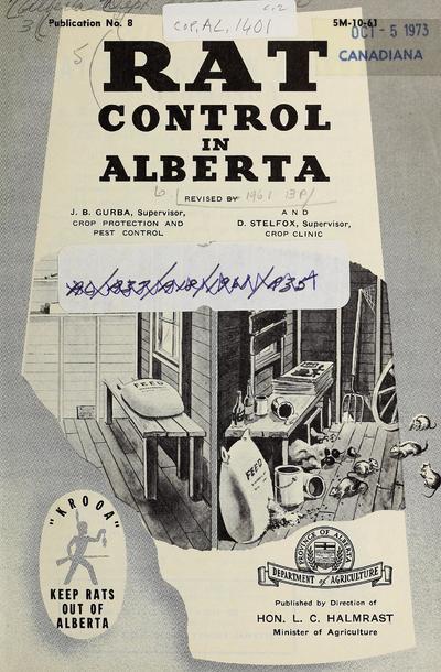 Rat control in Alberta /