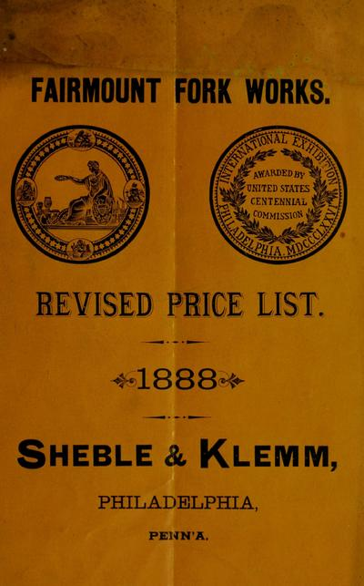 Revised pricelist