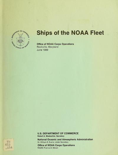 Ships of the NOAA fleet.