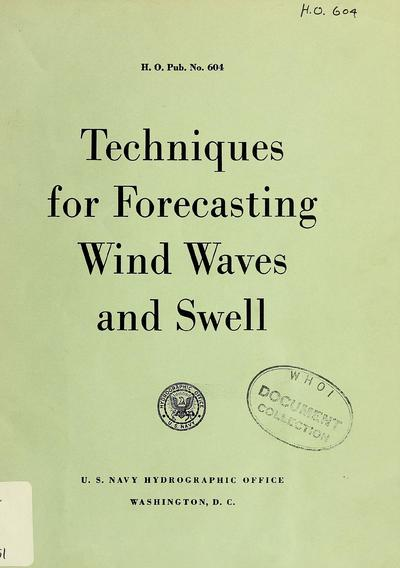 Techniques for forecasting wind waves and swell.