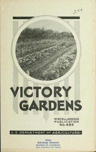 Victory gardens / by Victor R. Boswell.