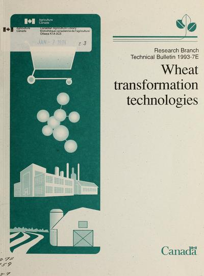 Wheat transformation technologies /