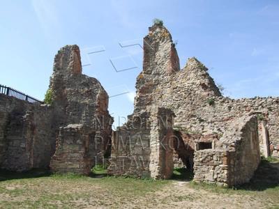 Boskovice, okres Blansko, MPZ, ulice Hradní 7, zřícenina hradu Boskovice