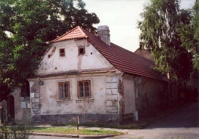 Lázně Toušeň, areál usedlosti čp. 16, dům čp. 16, pohled ze severozápadní strany