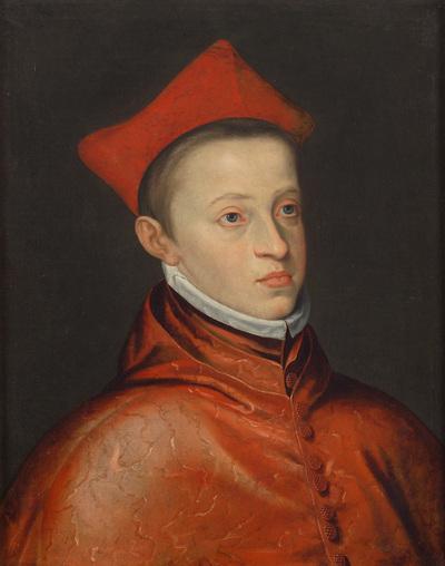 Erzherzog Albrecht VII. (1559-1621) als Kardinal, Brustbild
