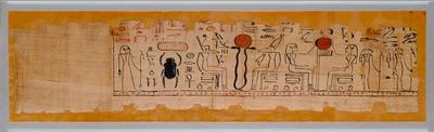 Teil eines Totenpapyrus