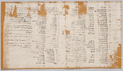 Liste von Götternamen, Kultorten, Kultanweisungen und heiligen Barken