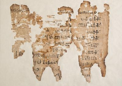 Hieratischer Papyrus