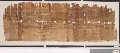 Nichtliterarischer demotischer Papyrus