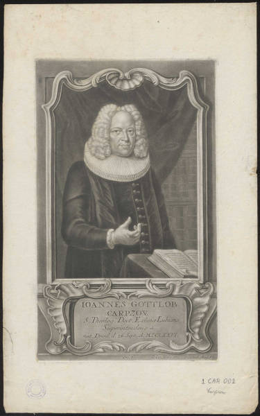 Johannes Gottlob Carpzow (1679-1767)