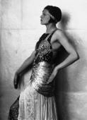 Ritratto di Marion Wulz in costume egiziano
