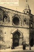 Facciata della cattedrale di Larino.