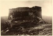 Veduta del Castello di Castropignano nei dintorni di Campobasso.