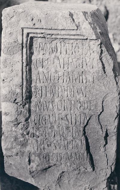 Honours for L. Pompeius Cerealis Salvianus