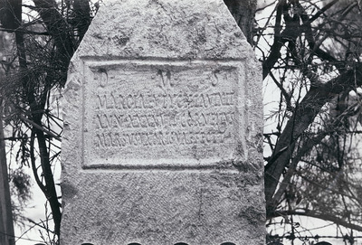 Funerary inscription for Marcia Eutychia