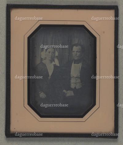 Dobbeltportræt af Johan Jacob Leonhard Schouboe og hustru Christiane Schouboe
