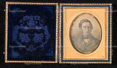 Daguerreotype of a painting or litography