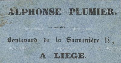 Plumier Alphonse