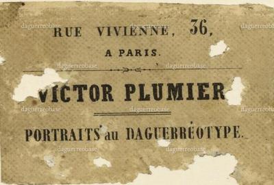 Plumier Victor - Paris