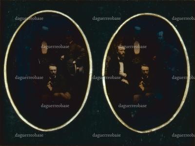 Tom Dieck, Larrobe, Kirchbach, Theodor Grosse. 1856.