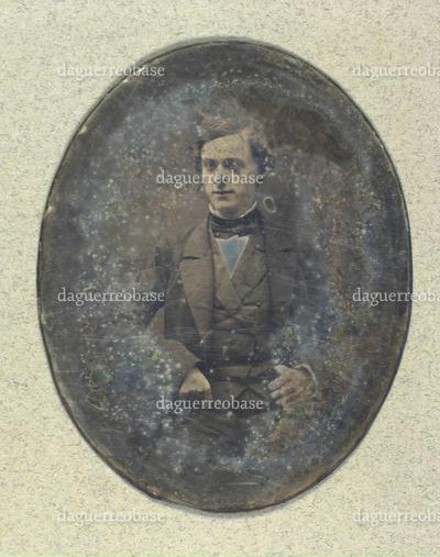 Portræt af uidentificeret mand