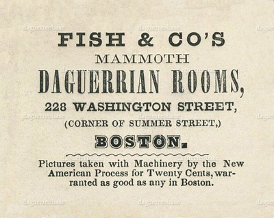 Fish & Co's Mammoth Daguerrian Rooms