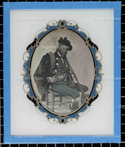 Portrait of a man on regional custome