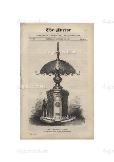 M. Daguerre's Process of Engraving
