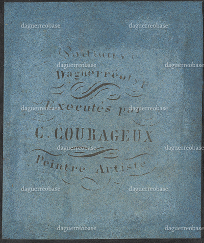 photographer label of C. Courageux